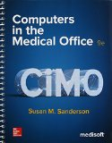 Computers in the Medical Office  9th 2016 edition cover