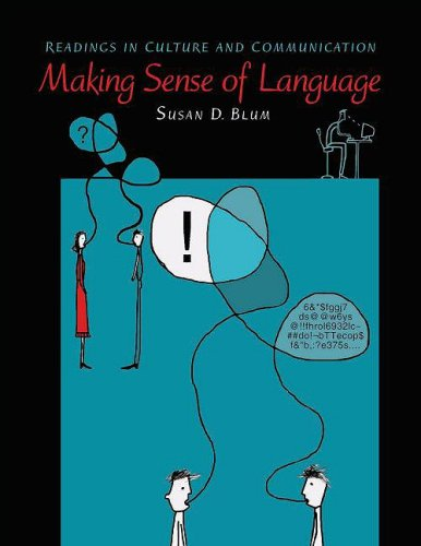 Making Sense of Language Readings in Culture and Communication  2008 edition cover