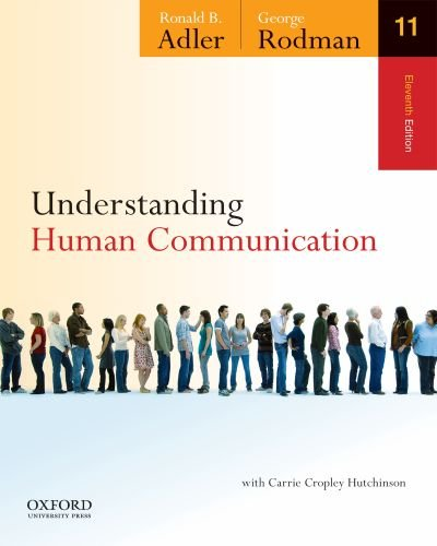 Understanding Human Communication  11th 2012 edition cover