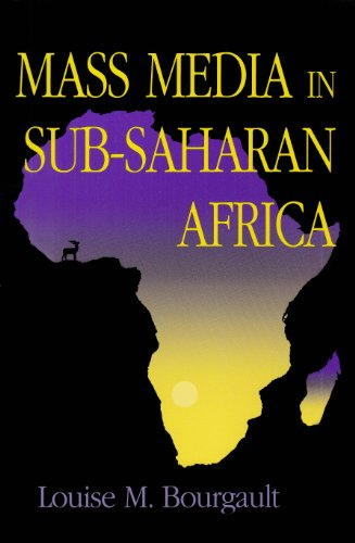Mass Media in Sub-Saharan Africa   1995 9780253209382 Front Cover