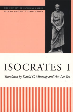 Isocrates I   2000 edition cover
