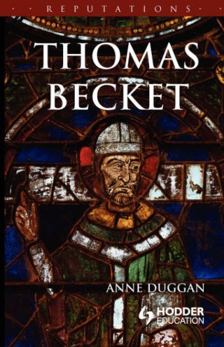 Thomas Becket   2004 9780340741382 Front Cover