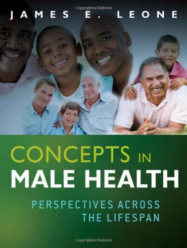 Concepts in Male Health Perspectives Across the Lifespan  2012 edition cover