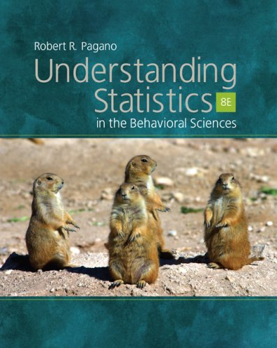 Understanding Statistics in the Behavioral Sciences  8th 2007 edition cover
