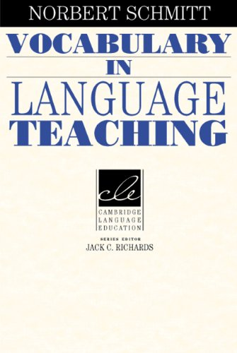 Vocabulary in Language Teaching   2000 edition cover