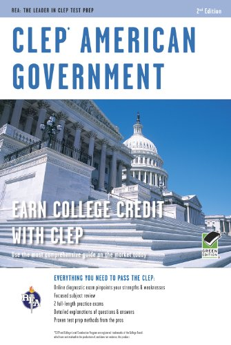 CLEP� American Government  2nd 2013 (Revised) edition cover
