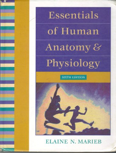 Essentials of Human Anatomy and Physiology  6th 1999 (Student Manual, Study Guide, etc.) 9780805349382 Front Cover