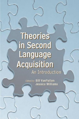 Theories in Second Language Acquisition An Introduction  2006 9780805857382 Front Cover