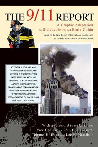 9/11 Report A Graphic Adaptation  2006 9780809057382 Front Cover