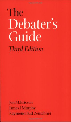 Debater's Guide  3rd 2003 edition cover