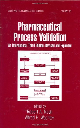 Pharmaceutical Process Validation  3rd 2003 (Revised) edition cover