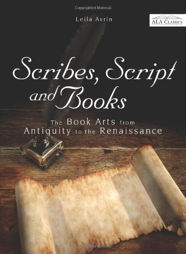 Scribes, Script, and Books  2010 edition cover