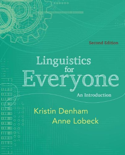 Linguistics for Everyone An Introduction 2nd 2013 edition cover