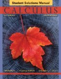 Calculus Multivariable 6th 2013 edition cover