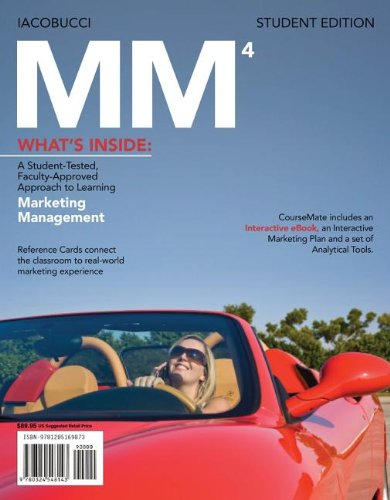 Mm + Marketing Coursemate With Ebook Printed Access Card: 4th 2013 edition cover