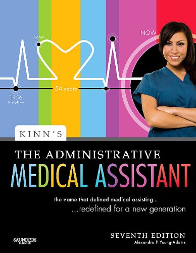 Kinn's the Administrative Medical Assistant An Applied Learning Approach 7th 2010 edition cover