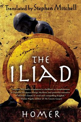 Iliad (the Stephen Mitchell Translation) N/A edition cover