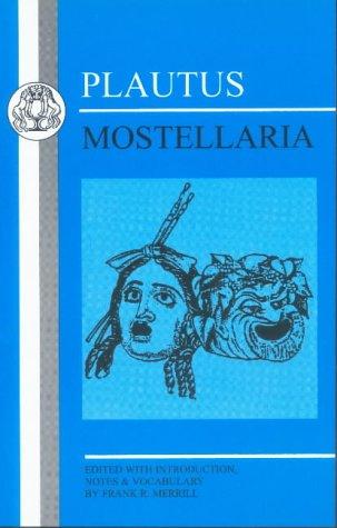 Plautus - Mostellaria  N/A edition cover