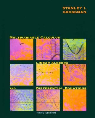 Multivariable Calculus, Linear Algebra and Differential Equations 3rd 1995 9780030030383 Front Cover