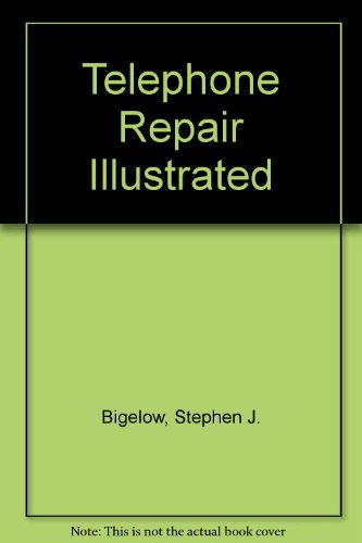 Telephone Repair Illustrated  1993 9780070052383 Front Cover