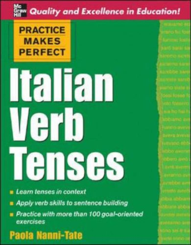 Italian Verb Tenses   2006 9780071451383 Front Cover