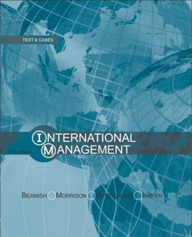 International Management with PowerWeb  5th 2003 (Revised) edition cover