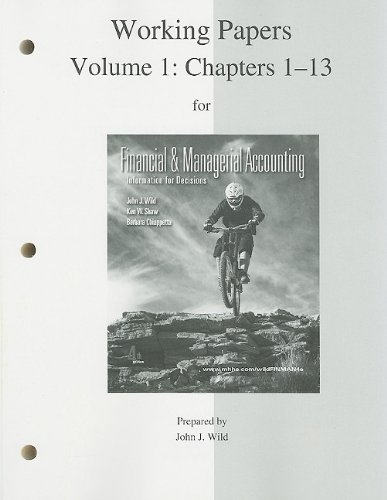 Financial Accounting, Chapters 1-13  4th 2011 9780077318383 Front Cover