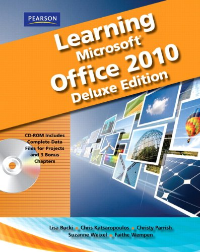 Learning Microsoft Office 2010   2011 (Student Manual, Study Guide, etc.) edition cover