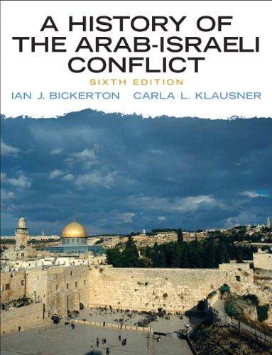 History of the Arab-Israeli Conflict  6th 2010 edition cover