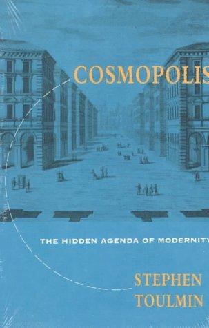 Cosmopolis The Hidden Agenda of Modernity Reprint 9780226808383 Front Cover