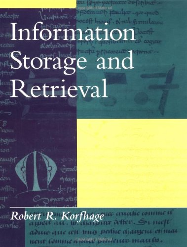 Information Storage and Retrieval   1997 edition cover