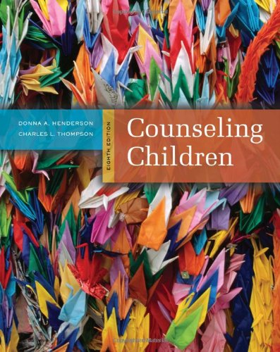 Counseling Children  8th 2011 edition cover