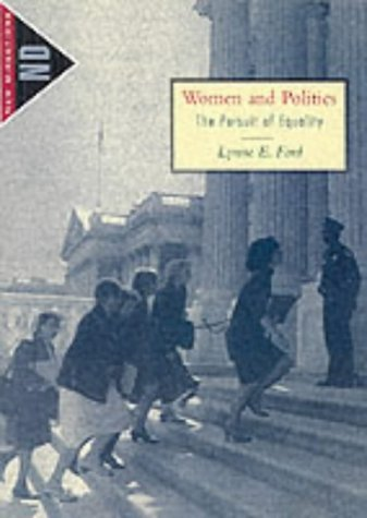 Women and Politics The Pursuit of Equality  2002 9780618063383 Front Cover