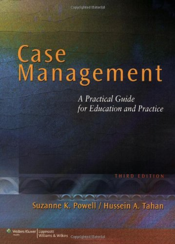 Case Management A Practical Guide for Education and Practice 3rd 2010 (Revised) edition cover