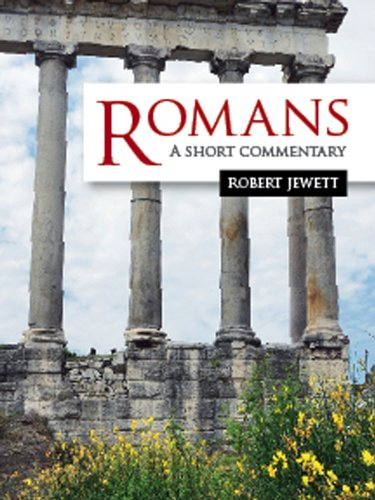 Romans A Short Commentary  2013 edition cover
