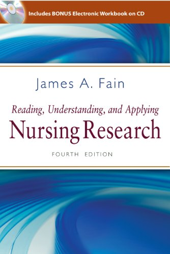 Reading, Understanding, and Applying Nursing Research:   2012 edition cover
