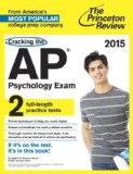 Cracking the AP Psychology Exam, 2015 Edition  N/A edition cover