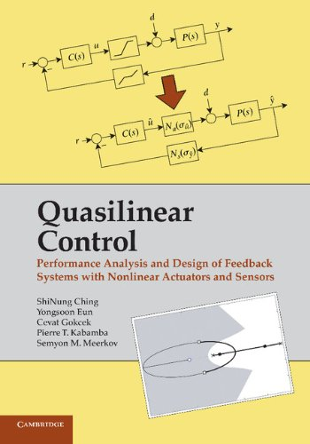 Quasilinear Control Performance Analysis and Design of Feedback Systems with Nonlinear Sensors and Actuators  2014 9781107429383 Front Cover