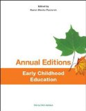 Annual Editions: Early Childhood Education  2014 edition cover