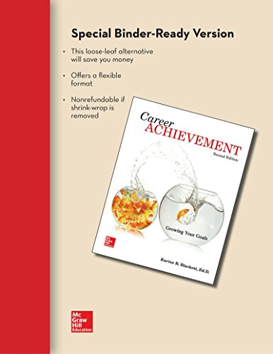 CAREER ACHIEVEMENT (LOOSELEAF)          N/A 9781259621383 Front Cover
