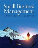 Small Business Management: Entrepreneurship and Beyond  2015 edition cover