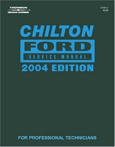 Ford Service Manual   2004 (Annual) edition cover