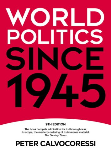 World Politics Since 1945  9th 2009 (Revised) edition cover