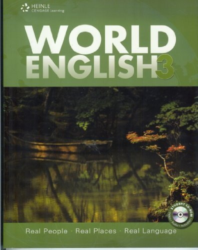 World English 3: Real People, Real Places, Real Languages  2009 edition cover