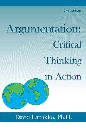 Argumentation Critical Thinking in Action 2nd 2009 edition cover