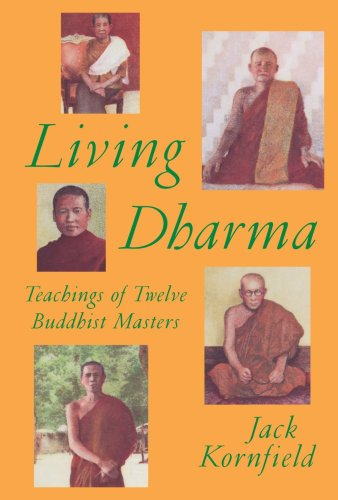 Living Dharma  N/A edition cover