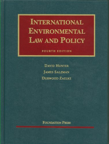 International Environmental Law and Policy, 4th  4th 2011 (Revised) edition cover