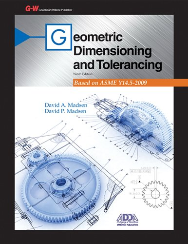 Geometric Dimensioning and Tolerancing  9th 2013 edition cover