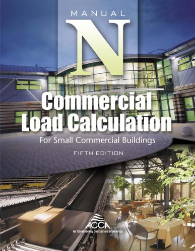 MANUAL N:COMMERCIAL LOAD CALCU N/A edition cover