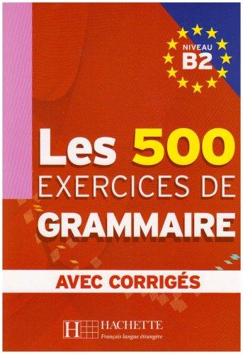 LES 500 EXERCISES DE GRAMMAIRE N/A edition cover